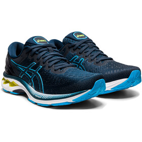 asics Gel-Kayano 27 Chaussures Homme, french blue/digital aqua